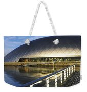 Reflection Of The Glasgow Science Weekender Tote Bag