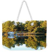 Reflection Of Trees Weekender Tote Bag