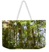 Reflection Of Woods Weekender Tote Bag