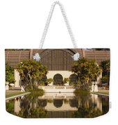 Reflection/lily Pond, Balboa Park, San Diego, California Weekender Tote Bag