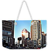 Reflections About Boston Weekender Tote Bag