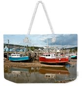 Reflections At Low Tide Weekender Tote Bag