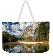 Reflections At Swinging Bridge Weekender Tote Bag