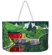 Reflections Weekender Tote Bag by Barbara Griffin
