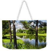Reflections In A Tranquil Pond Weekender Tote Bag