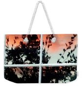 Reflections In An Old Window Weekender Tote Bag