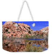 Reflections In Barker Dam By Diana Sainz Weekender Tote Bag