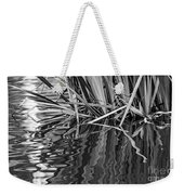 Reflections In Black And White Weekender Tote Bag