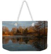 Reflections In My Favorite Pond Weekender Tote Bag