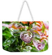 Reflections In Raindrops Weekender Tote Bag