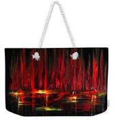 Reflections In Red Weekender Tote Bag
