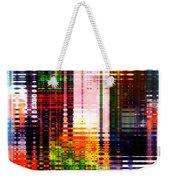 Reflections In Technicolor Weekender Tote Bag