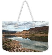 Reflections In The Blue Mesa Weekender Tote Bag