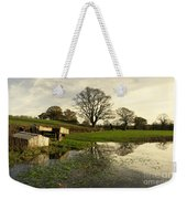 Reflections In The Flood  Weekender Tote Bag
