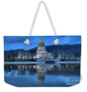 Reflections In The Kanawha River Weekender Tote Bag