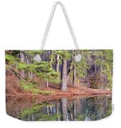 Reflections In The Pines Weekender Tote Bag