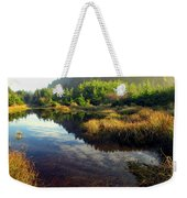 Reflections In The Pond Weekender Tote Bag
