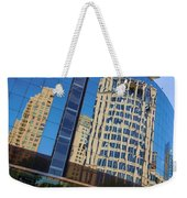 Reflections In The Rolex Bldg. Weekender Tote Bag