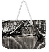 Reflections In The Snow Weekender Tote Bag