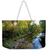 Reflections In The Stream Weekender Tote Bag