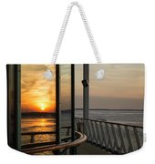 Reflections Of A Chesapeake Sunset Weekender Tote Bag