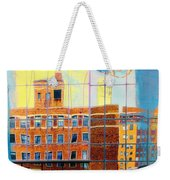 Reflections Of A City Weekender Tote Bag