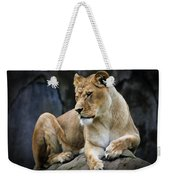 Reflections Of A Lioness Weekender Tote Bag