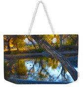 Reflections Of A Pond 2 Weekender Tote Bag