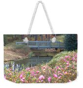Reflections Of A Walking Bridge Weekender Tote Bag