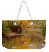 Reflections Of An Autumn Day Weekender Tote Bag