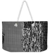 Reflections Of Architecture In Balck And White Weekender Tote Bag