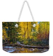 Reflections Of Gold Weekender Tote Bag