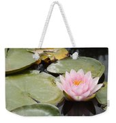 Reflections Of Lily Weekender Tote Bag