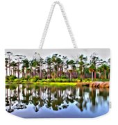 Reflections Of Pines Weekender Tote Bag