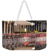 Reflections Of Saint Mark's Square -day Weekender Tote Bag