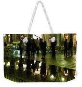 Reflections Of Saint Mark's Square-night Weekender Tote Bag