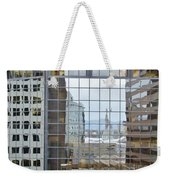 Reflections Of The Capitol Building In Denver Colorado Weekender Tote Bag