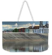 Reflections Of The Courthouse Weekender Tote Bag