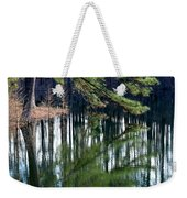 Reflections Of The Pine Weekender Tote Bag