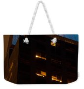 Reflections Of Times Square Weekender Tote Bag