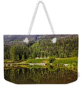 Reflections Of Vail Weekender Tote Bag