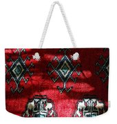 Reflections On A Persian Rug Weekender Tote Bag