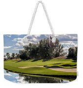 Reflections On A Still Morning Weekender Tote Bag