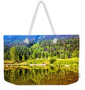 Reflections On A Summer Day - Vail - Colorado Weekender Tote Bag