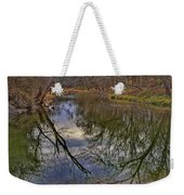 Reflections On A Warm Winter Day Weekender Tote Bag
