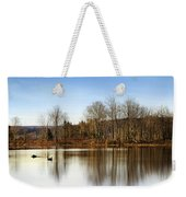 Reflections On Golden Pond Weekender Tote Bag