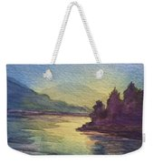 Reflections On North South Lake Weekender Tote Bag