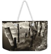 Reflections On The Bayou Villere La  Dsc05423 Weekender Tote Bag