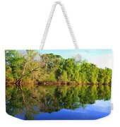 Reflections On The River Weekender Tote Bag