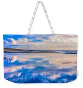 Reflections On The Beach Weekender Tote Bag